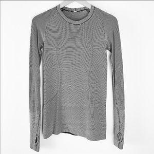 LULULEMON swiftly tech long sleeve stripe 6
